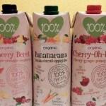 Test: drie maffe, biologische vruchtensappen van 100% Juice