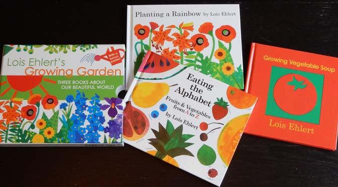 Lois Ehlert prentenboeken over planten