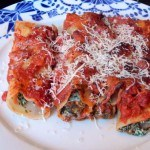 Recept cannelloni met spinazie en ricotta #meatfreemonday