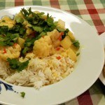 Recept curry met bloemkool en tofu #meatfreemonday