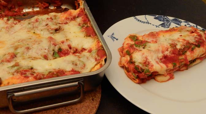 Recept vegetarische enchiladas