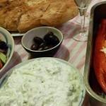 Recept zomers Grieks met een drankje #meatfreemonday
