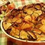 Recept Griekse aardappelschotel uit de oven #meatfreemonday