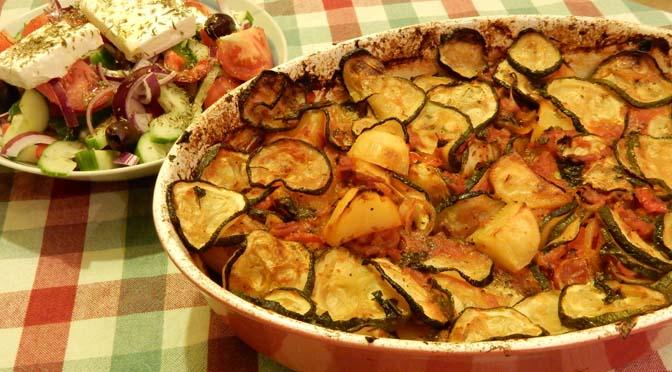 Recept Griekse aardappelschotel briam