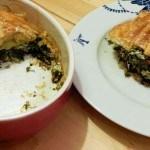 Recept Griekse taart met spinazie en feta #meatfreemonday