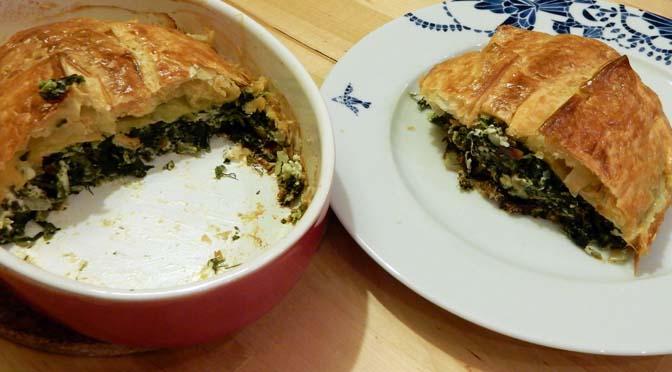 Recept Griekse spinazietaart