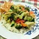 Recept groene curry met veel groente #meatfreemonday