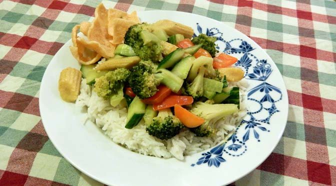 Recept groene curry