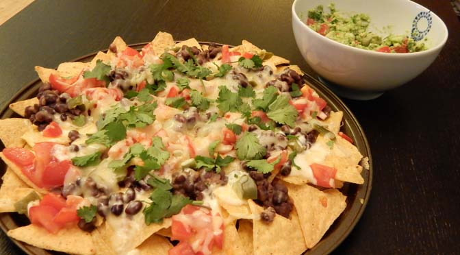 recept nachos met kaas en creme fraiche