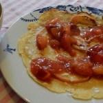 Recept pannenkoek met pruimencompote #meatfreemonday
