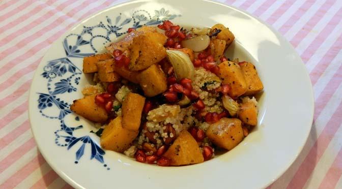 Recept quinoa met pompoen