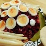 Recept salade van rode bietjes en aardappel #meatfreemonday