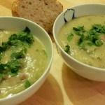 Recept soep met aardpeer en pastinaak #meatfreemonday