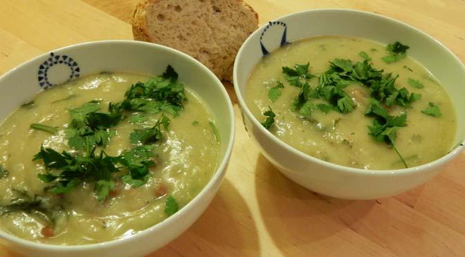 Recept soep met aardpeer en pastinaak