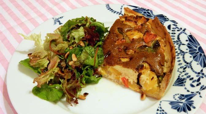 Recept taart met paprika en kaas