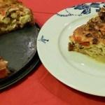 Recept hartige taart met prei en geitenkaas #meatfreemonday