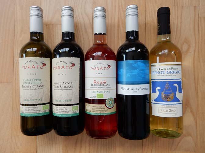 bekende biologische wijnen