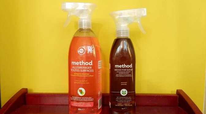 Method ecologische schoonmaakmiddelen