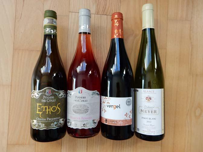 nieuwe biologische wijnen