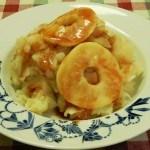 Recept hete bliksem, stamppot met appel #meatfreemonday