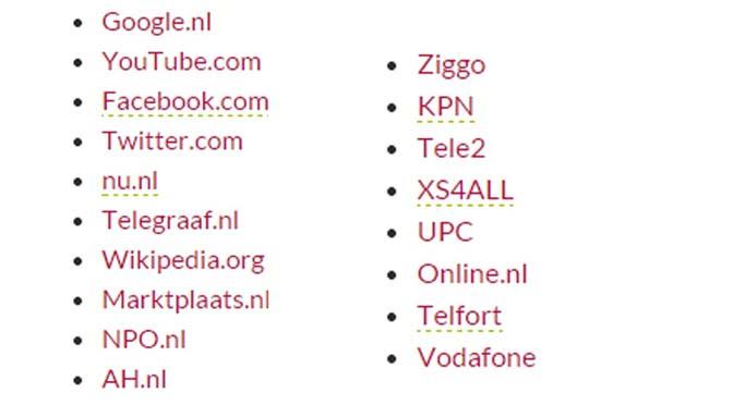 Groene websites