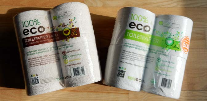 100% eco toiletpapier