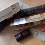 Test: verliefd op rauwe chocolade met de repen van Lovechock