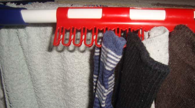 droogrek-sokken