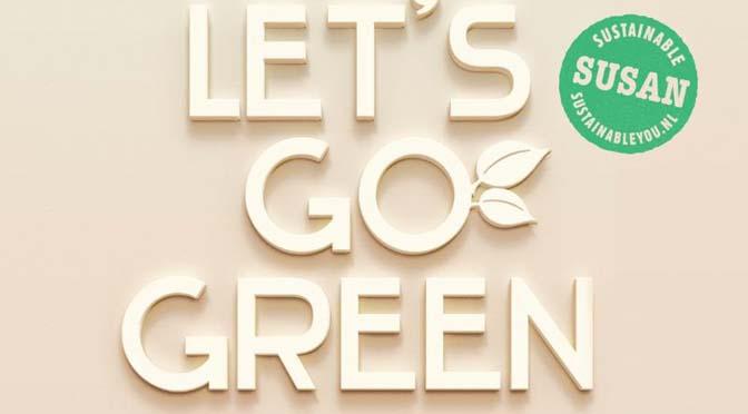 """Sustainable Susan: """"Groen leven, daar word je echt gelukkig van!"""""""
