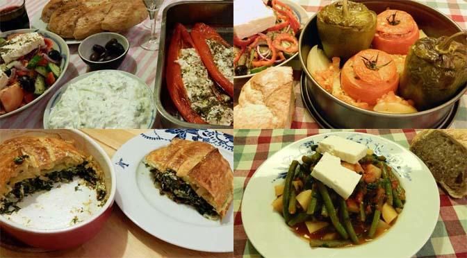 Gezond eten als een Griek: de Griekse voedselpiramide