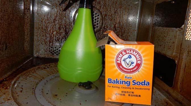 schoonmaaktips met baking soda