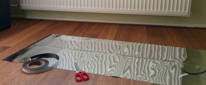 radiatorfolie-bevestigen