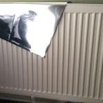 In een handomdraai veel energie besparen met radiatorfolie