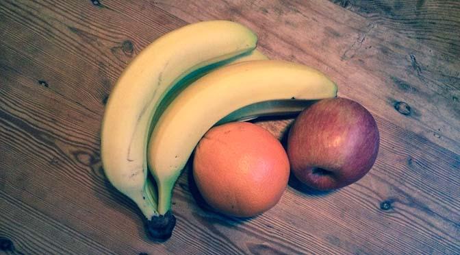 5 a day keeps the doctor away: groente en fruit challenge