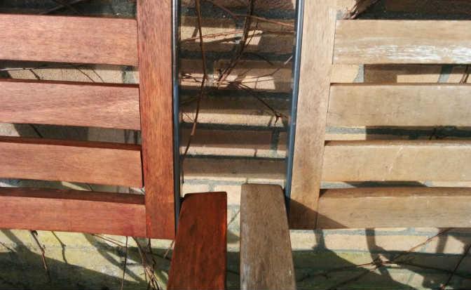 Tuinmeubelen behandelen met olie in plaats van beits of lak  werkt het?  u22c6 Eigenwijs Blij