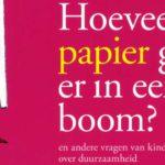 Kinderen leren over duurzaamheid met 'Hoeveel papier gaat er in een boom?'