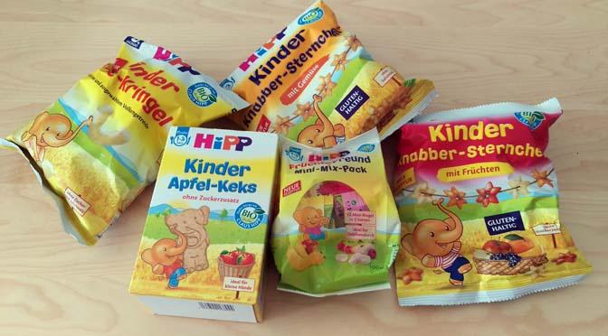 HiPP: lekkere biologische snacks, chips en koekjes voor peuters!