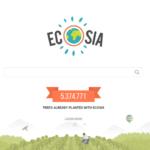 Ecosia: bomen planten terwijl je een zoekmachine gebruikt
