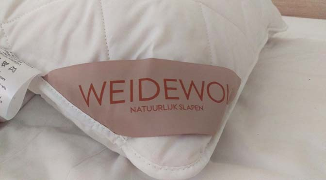 Test: slapen onder een Texels wollen dekbed van Weidewol #kortingscode