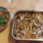 Veganized recept: pasta met paddenstoelen uit de oven