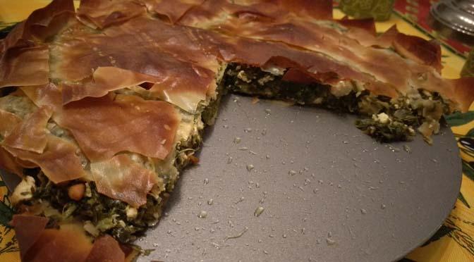 Veganized recept: Griekse spinazietaart oftewel spanakopita