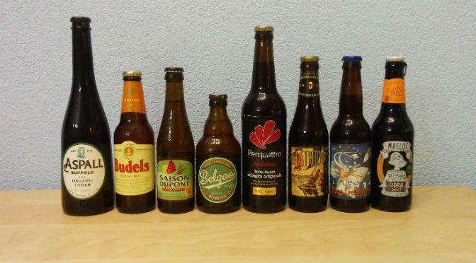 Proeverij biologisch bier van BiologischBier.nl