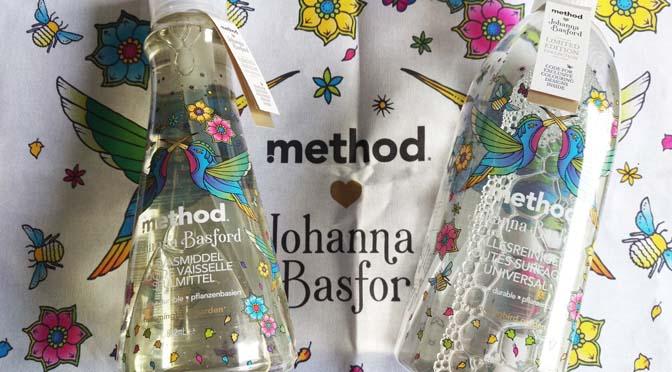 Method limited edition 2017: geur en design van Johanna Basford