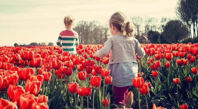 Eigenwijs blij knutselen, spelen en tuinieren met jonge kinderen