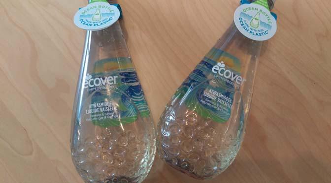 Ecover vecht tegen de plasticsoep met de nieuwe Ocean Plastic Bottle