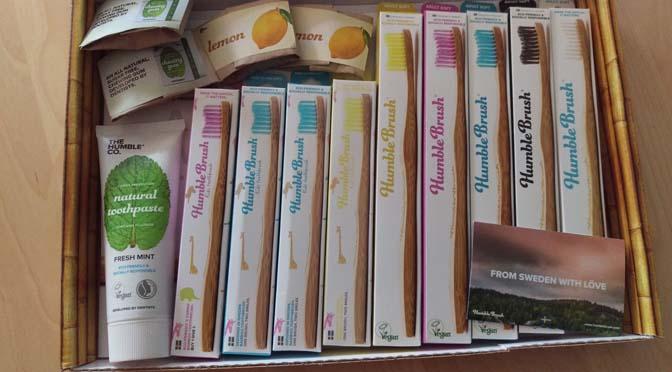 Test: tandenpoetsen met Humble Brush tandenborstels van bamboe