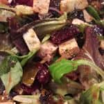 Recept: vegan maaltijdsalade met bietjes, zeewier en tofu