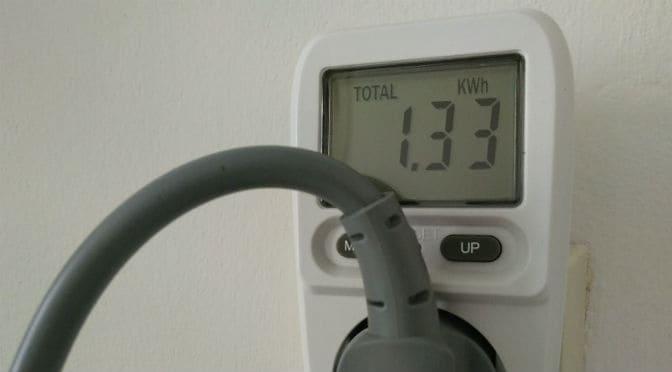 Speur de energieslurper op met een energieverbruiksmeter; mijn ervaring