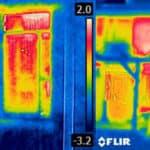 Warmtelekken opsporen met een warmtecamera van Buurkracht