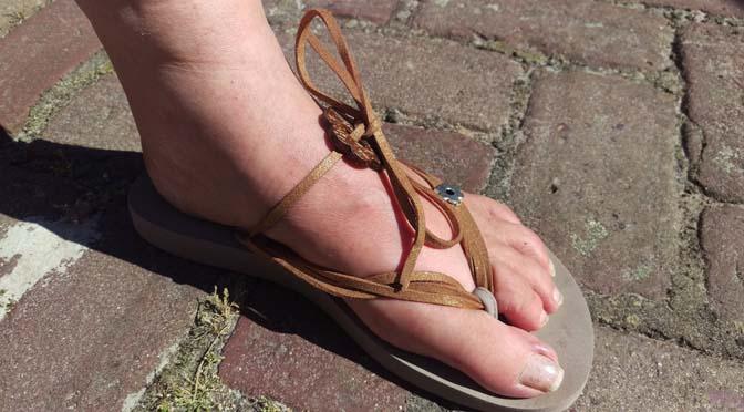 Bandajanas slippers, aanwinst in de klerenkast